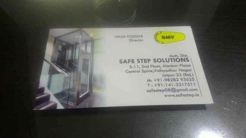 Elevator dealer in Jaipur   . Safe Step Solution is authorized distributor of Home Elevators. - by Safe STEP SOLUTIONS JAIPUR, Jaipur