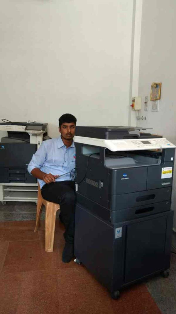 Photo Copier Machine Sales and Service in Chennai.  We are the Best Sales and Service for All Brands of Photo Copier Machine in Very Advanced Technologies in Very minimum Time. - by KM ENTERPRISES, Chennai