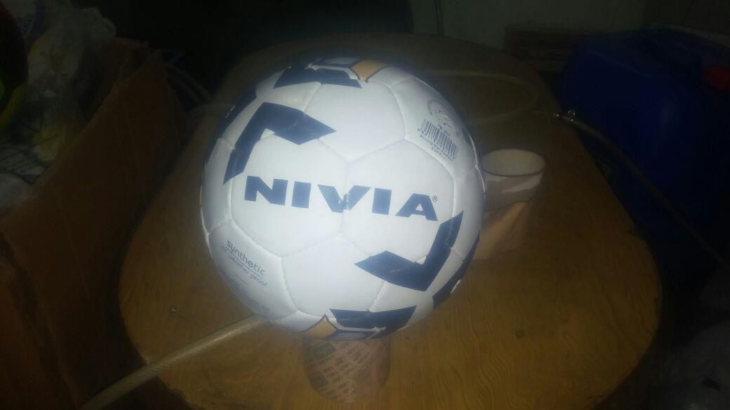 NIVIA FOOTBALL available in yashwante sports, jalna - by Yashwante Shoe Palace & Sports, Jalna