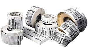 These labels are specially used to print the barcodes. These are available in rolls. We can use any barcode printer to print these labels. Labels available in printed and plane form and in different kind of paper viz. Chromo, TT2C, Polyeste - by Dash International, New Delhi