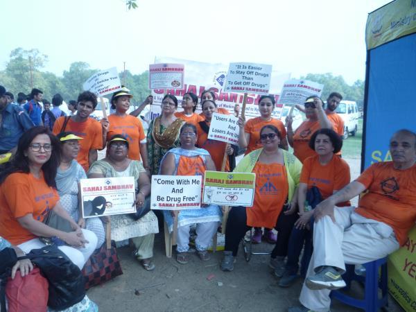 Sahaj Sambhav (Alcohol / Drug Rehabilitation Center) Participated in International Drug Abuse Day 2016, on 26th June, 2016 at India Gate, New Delhi - by Sahaj Sambhav Org, New Delhi