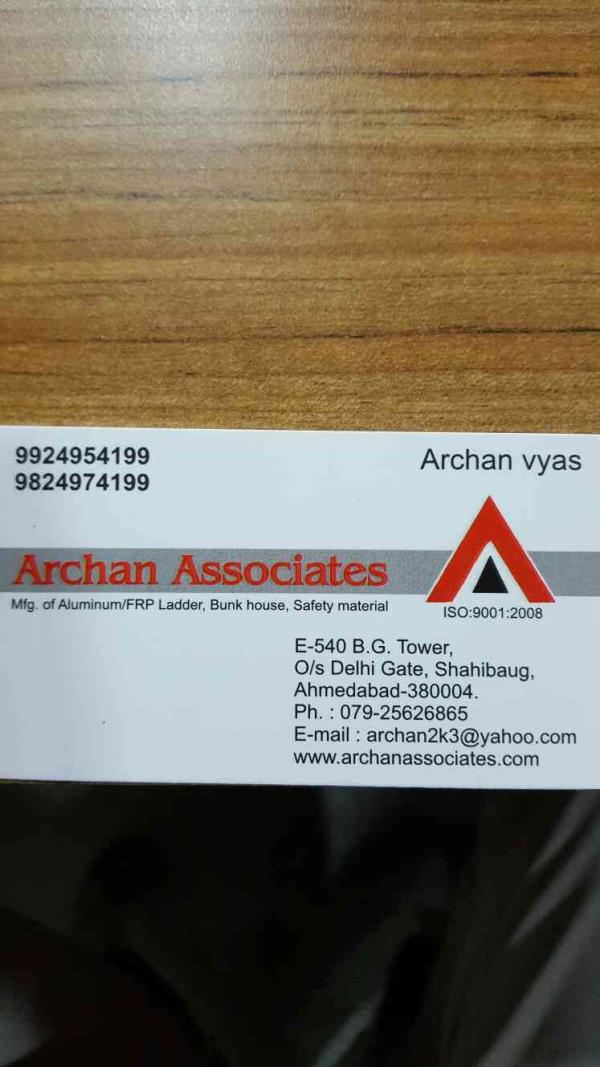 Archana Associates is established in the year  We are located in Ahmedabad city of Gujarat state.  We are the leading manufacturer of Bunk House and other safety material - by Archan Associates, Ahmedabad