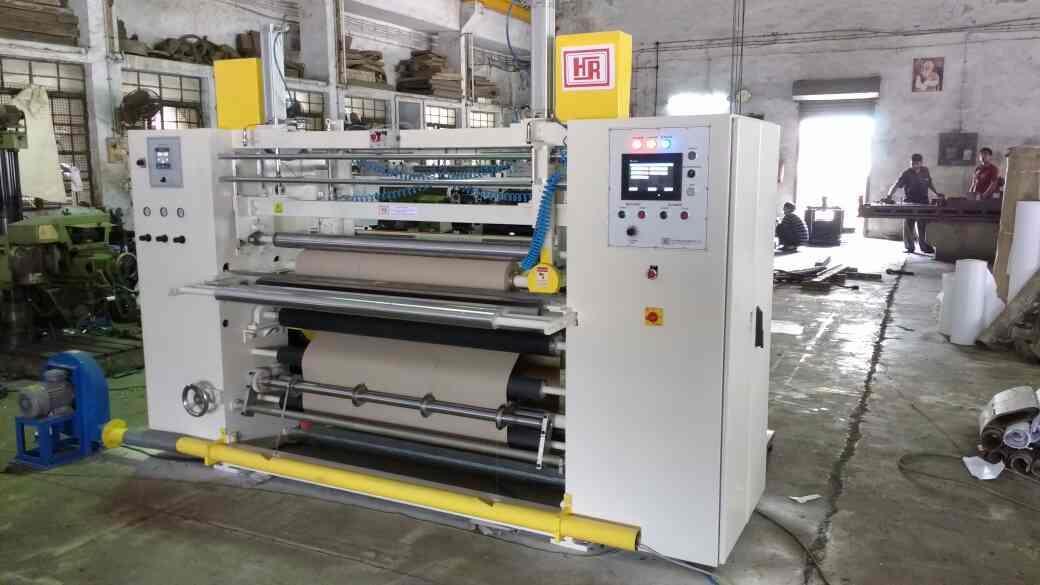 Slitting Machine manufacturer in Mumbai. - by H.R.Paper Machinery, Mumbai