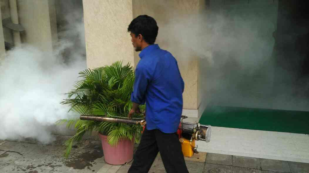 Fogging Treatment in Athena CHS. Rustomjee Urbania, Majiwada, Thane (W) - by Maharashtra Pest Control, Thane West