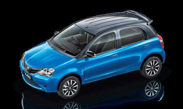 The New Etios Liva Stylish. Dual Tone. Feature Loaded. The New Liva' Dual-Tone Painted Roof Contrast is a Direct Factory Build. A First in this Segment.  Now available in an All New Blue and Black dual tone.  More Information http://www.toy - by Uttam Toyota, Authorised Toyota Dealer  - 9810330023, East Delhi