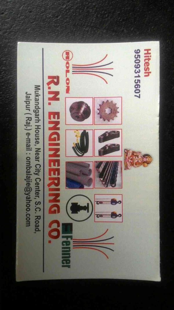 industrial bearing - by RN Engineering Works JAIPUR, Jaipur