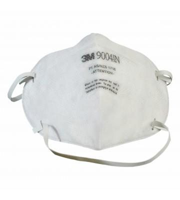 Buy 3M™ 9004IN, Particulate Respiratory White 10 Pcs. at Best Price. Shop online for 3M™ 9004IN, Particulate Respiratory White 10 Pcs. from Labbazaar Get free Shopping and CoD Across India.  Buy now :- https://www.labbazaar.in/3mtm-9004in-particulate-respirator-white-10-pcs.html or Call now @ +91-8826222333   The 3M 9004 IN is a dust mask composed of three layers of filters. The outermost layer filters out the largest dust particles, the innermost layer preserves the respirator's shape and the middle layer is composed of electrostatic filter media. It has the ability of this respirator mask to filter above 90% of 0.3-micron particulate dusts.   Features:-  1. Filtering efficiency ranging 80% when tested against 0.3-micron sodium chloride particle  2. Can be folded when not in use & slipped easily into the pocket.  3. AS/NZ Approval, P1 Class of Filtering Efficiency, CLI tested.  Tags :- 3M™ 8210, N95, Particulate Respiratory Protection in India, 3M™ 8210, N95, Particulate Respiratory Protection in Delhi, Chennai, Mumbai, Chennai, Bangalore, Jaipur, Punjab , Ahmedabad, Ratlam, Aizwal, Coimbatore, Kangra, Hassan, Pune, Kollam, Cochin, Vishakhapatnam, Kanpur, Udupi, Surat, Panjim, Jaipur, Nagpur, Vasai, Rudrapur, Calicut, Dimapur, Thiruvananthapuram, Calicut etc.