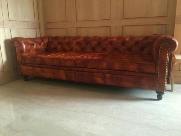 Leather sofa manufacturer in sarjapur road. we are manufacturing all leather sofas. - by GOODTIME LIFESTYLE, Bangalore
