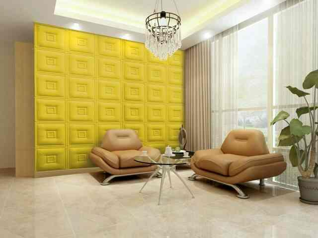 3D PVC Panels  size 8x4 ft paintable  easy installation  good and affordable  - by Dreams International, New Delhi