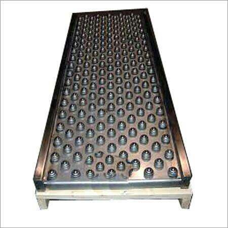 Fostered by our proficient troop of technocrats, we are able to offer a wide range ofBall Transfer Conveyor Tables.The offered conveyor tables are extensively used to manually reposition, rotate or remove flat bottom surfaced products. The - by Perfect Engineering Co., Vadodara