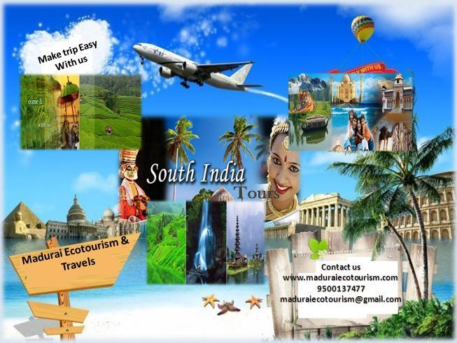 From Madurai to Rameswaram & Kanyakumari - Halt - 1 Night 2 Days Package Tour - Fare Rs.1995.00 kanyakumari S/S to Madurai Drop  By Car (Min 4 Persons) - Per 1 Person Rs 2950.00 By Qualis ( Min 8 Persons) - Per 1 Person Rs 2590.00  From Mad - by Southindian Eco Tourism, Madurai
