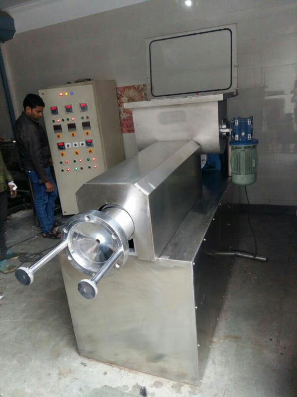 macaroni pasta plant up to 300 kg/h fully automatic  - by Macaroni Pasta Machine Manufecturer, New Delhi
