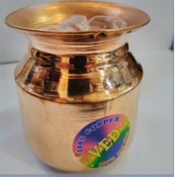 100% pure copper lota - by New Fronteir Shop, Haridwar