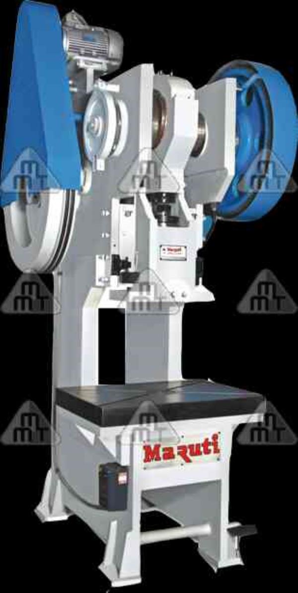 We are one of the leading C Type Power Press, Manufacturers known widely not only in India but in the entire global arena for our strong and robust features and also because of the fine performance of our products.  The C Type Power Press  - by Maruti Machine Tools, Rajkot