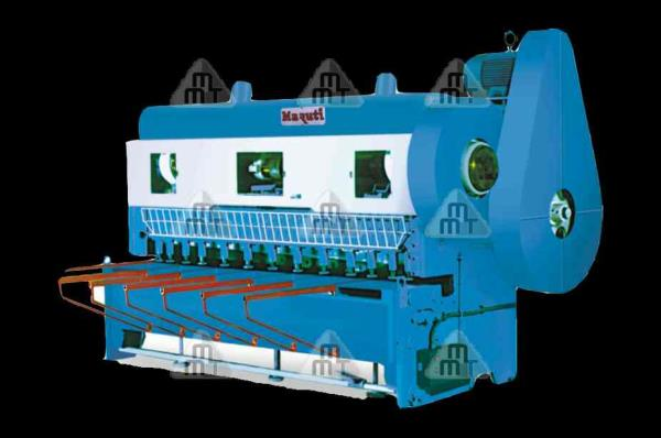 Mechanical Over Crank Shearing Machine  - by Maruti Machine Tools, Rajkot