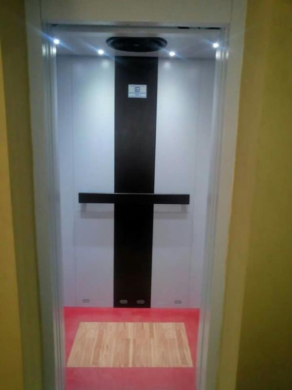 """The high-speed """"variable voltage variable frequency (VVVF)""""elevators have a high precision inverter drive system and advanced microprocessor control. The VVVF inverter controls the motor speed at the optimal level by changing the voltage an - by Hi Tech Lifts, Madurai"""