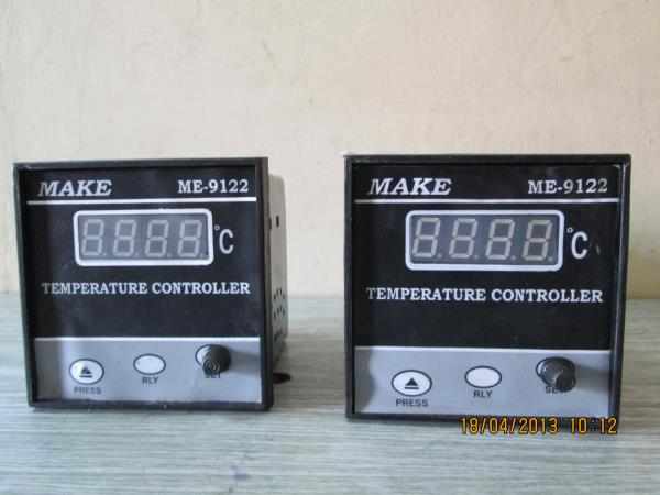 We are manufactures of TEMPERATURE CONTROLLERS in dimension ( 48 X 48 Sqmm , 72 X 72 Sqmm , 96 X96 Sqmm ) . Sensor - K , J , RTD. - by Make Engineering , Coimbatore
