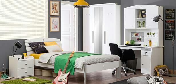 CILEK's Active White series is liked by Girls and Boys of all Ages. This series is a combination of White Colour and Elegant Metal, which creates a spacious atmosphere in the Kids room.   - by KK Enterprise, Rajkot