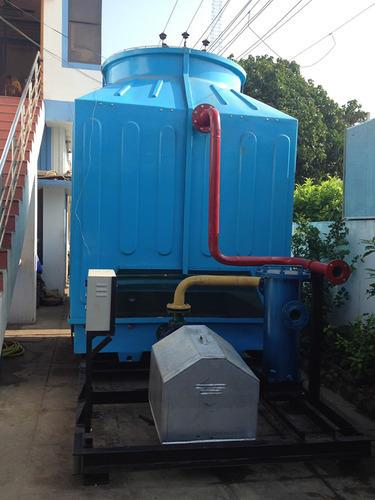 Quality Skid mountain cooling towers    Skid Mounted Cooling Tower is a complete set of cooling material such as Cooling Tower, Pump, Pipe work with connections, Water Treatment system, Electrical system mounted on a single base frame. This - by United Cooling Systems, Coimbatore