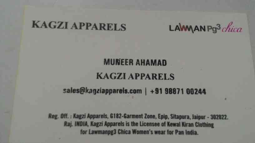 women's top tunic dress and apparels menufecture and wholesale  - by KAGZI APPARELS, Jaipur