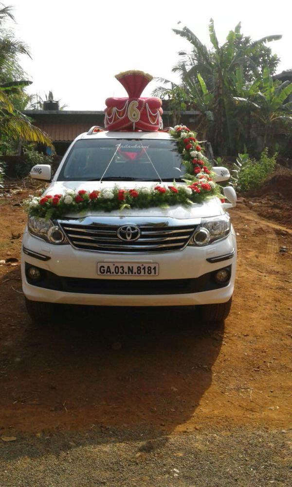 Fortunes used for wedding at Goa - by Vailankanni Auto Hires, Candolim
