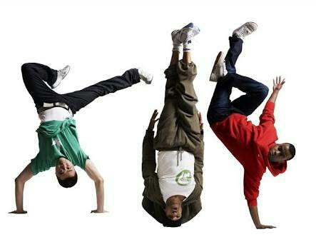 A reference to breakdancing or b-boying; popping and locking refers to bodily actions performed during breakdancing ... - by Best Busters Dance Academy , Indore