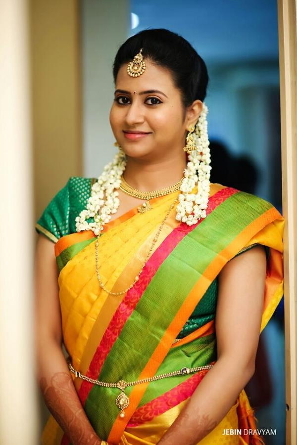 Reception Makeup Reception makeup is totally different from the wedding makeup. Usually wedding makeup is done as per their custom but reception makeup is done as per the brides choice. Depending upon the theme we makeup the bride. - by Cini Makeup-chennai, Chennai