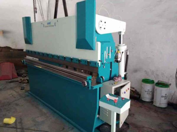 we are into manufacturing of hydraulic press brake  in ahmedabad  - by Shivshakti Technomac , Ahmedabad