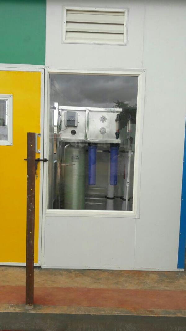 Compact RO 500lph System Installed Successfully at Fontus Water , Karnataka - by Innovative Water Technologies, Secunderabad