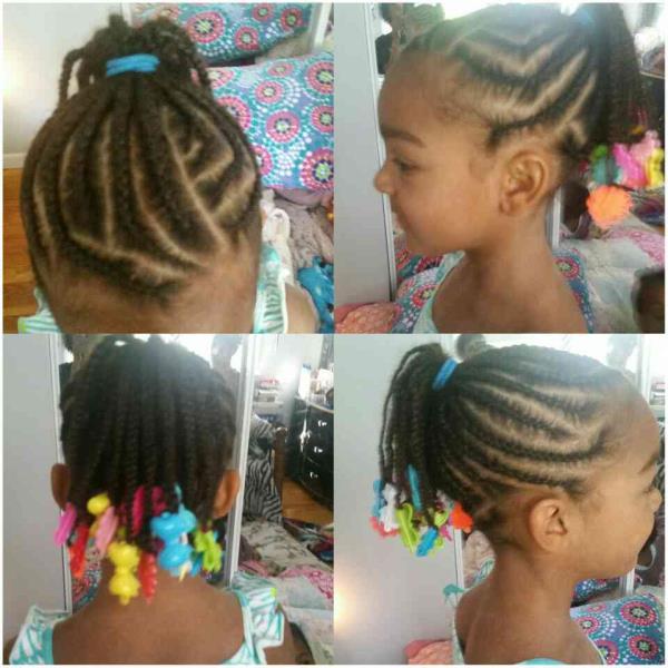 Young child hair design - by Seyyonni's Hair-Salon, Reading