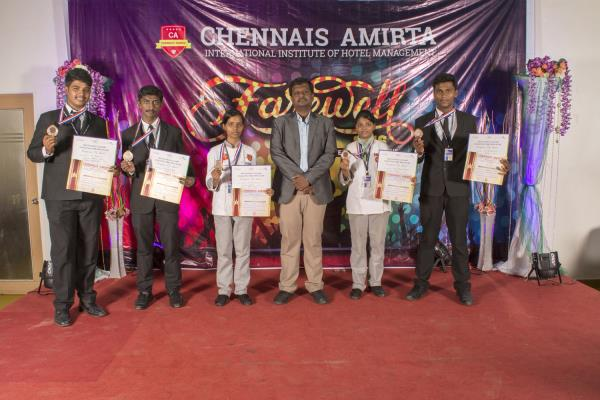 Best Hotel Management College in Chennai  It was time to bid goodbye to students of the 2015 batch as Chennais Amrita Institute's, OMR campus celebrated its farewell day on 23rd and 24th June 2016 with much fervor.  Spanning for over 2 days - by Chennais Amirta - Best Hotel Management Institute, chennai