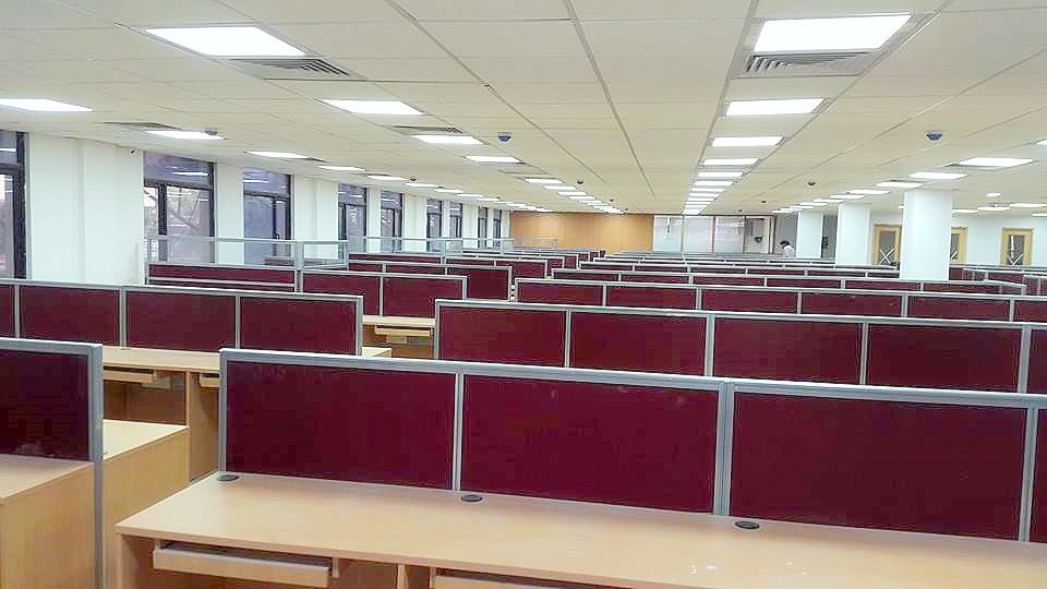 Call Center Office Space in Mohan Cooperative Industrial Estate | Co-Working Office Space on Rent in South Delhi  An Fully furnished Commercial Office Space is available for Rent in Mohan Cooperative. Best Location Main Mathura Road. Semi-F - by Office Valley: Smart Office Space on Rent in Delhi, New Delhi