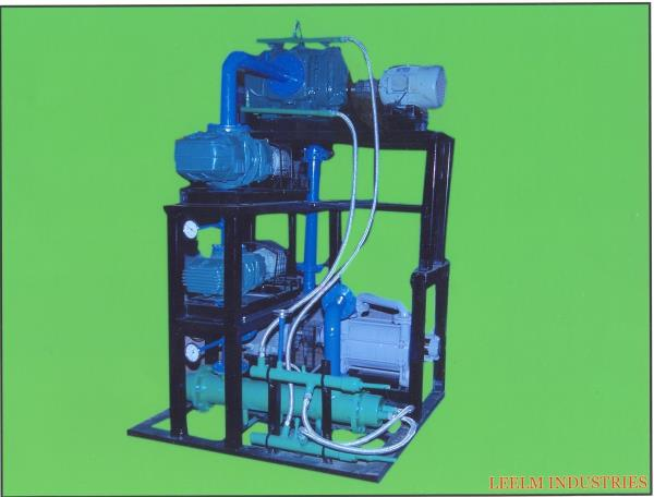 We are manufacture vacuum booster system with 4 stage.  We are manufacturer vacuum booster air cooled and water cooled.  - by Leelam Industries, Ahmedabad