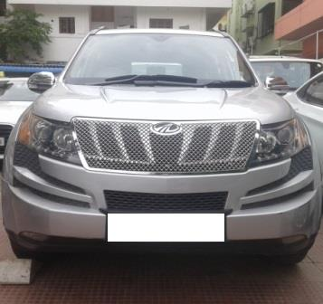 MAHINDRA XUV 500 W8 AWD:MODEL 02/2013, KM 71643, COLOUR SILVER, FUEL DIESEL, PRICE 1200000 NEG. - by Nani Used Cars, Hyderabad