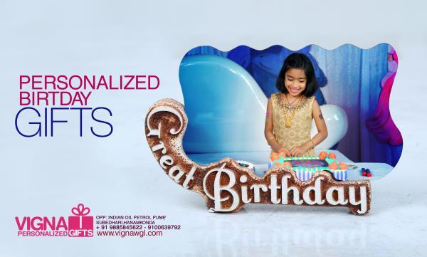 birthday gifts - by VIGNA PHOTOGRAPHY & PERSONALIZED GIFTS, Warangal,hanamkonda,Hyderabad