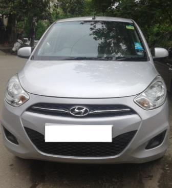 HYUNDAI I10 SPORTS AT:MODEL 0/2011, KM 50975, COLOUR SILVER, FUEL PETROL, PRICE 425000 NEG. - by Nani Used Cars, Hyderabad