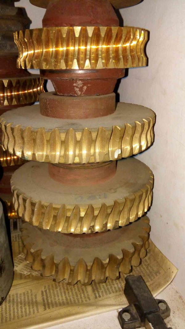 All type gear box worm wheel  - by JAI MAA Engineering Co., Chennai