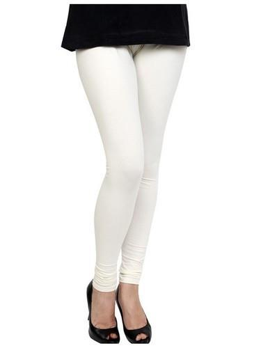 leggings wholesale in Delhi. leggings wholesale in UP. leggings wholesale in Lucknow.  Olizo Women Wear Legging -White  The Ladies White Legging provided by us are highly stretchable and comfortable.  Features: Stretches easily Comfortable  - by Bridal Lehengas +91-9716701254, Delhi