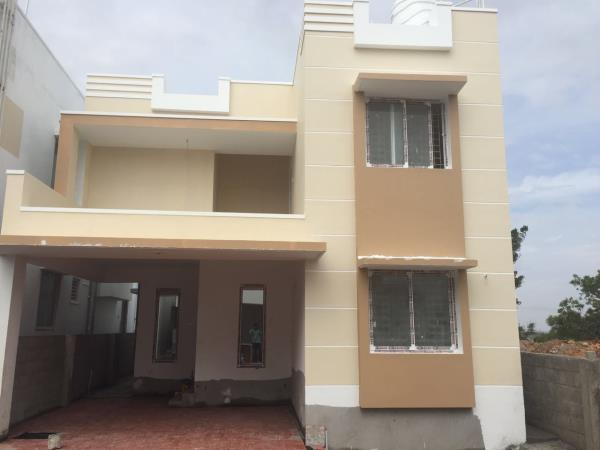 ESR MISTY HOMES, Villas in Kovaipudur by E.S. RAMASAMY & CO, Engineers & Builders - by E S RAMASAMY & CO, Coimbatore