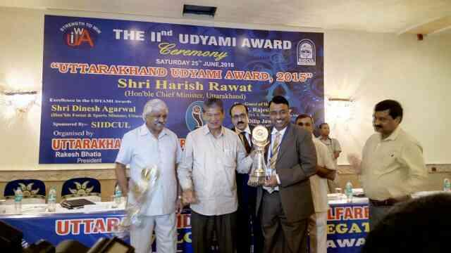 Congratulations for Business Award to our Managing Director by Honorable Chief Minister Utrakhand......... - by Alucopanel Industries , New Delhi