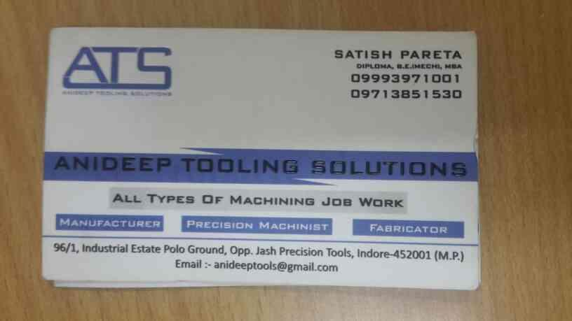 Contact on this..... - by Anideep Industry, Indore
