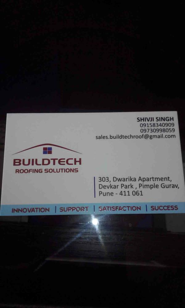 Colour coated sheets Manufacturer in pune.   - by Buildtech Roofing Solutions, Pune