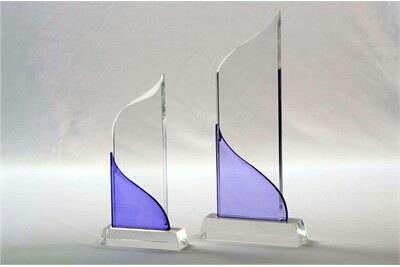 we are leading manufacturer of acrylic trophy with different Size's and shape in Vadodara, Gujarat. - by All Color Sign, Vadodara