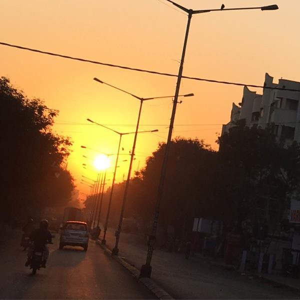 Morning sunrise  - by Test , Bangalore Urban