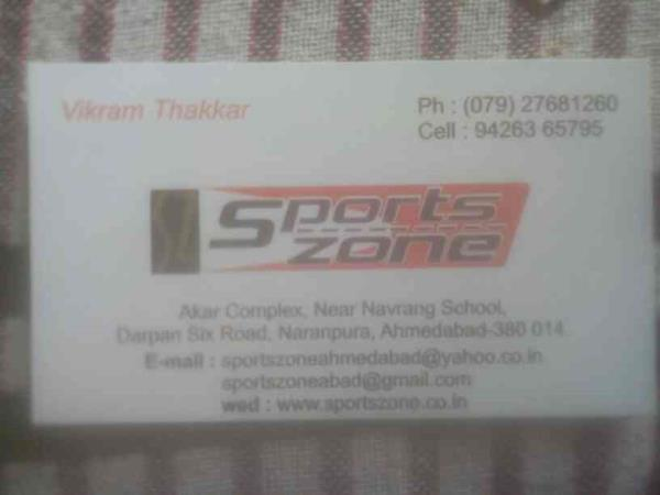 For any kind of assistance please contact us  - by Sports Zone , Ahmedabad