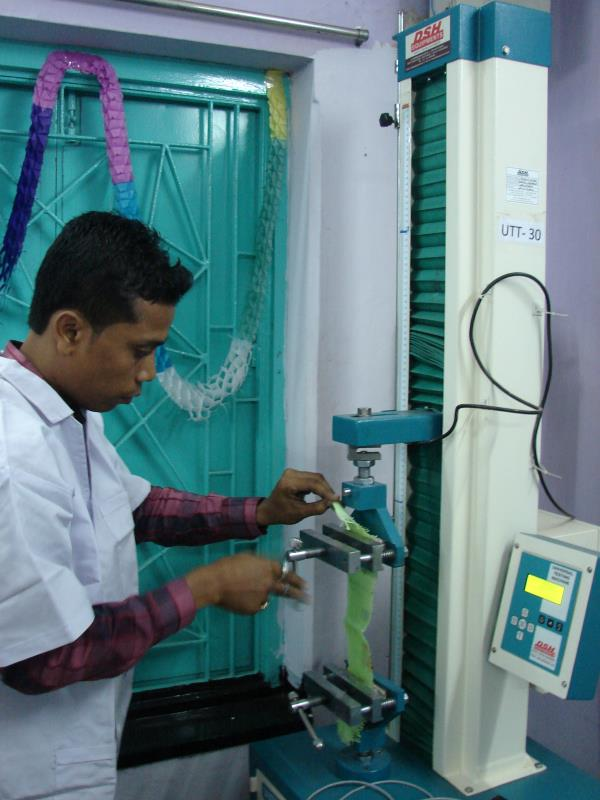 Laboratory testing of Jute & polymer bags  INSPECTION SYNDICATE OF INDIA PVT. LTD.  Quality testing services related to any kind of jute o polymer made packaging bags/sacks/fabrics/sheets/rolls etc. - by Inspection syndicate of India, Purba Medinipur