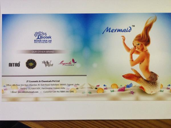 Mermaid is one of the best brand in cosmetics  - by Jt Cosmetic And Chemicals, Vadodara