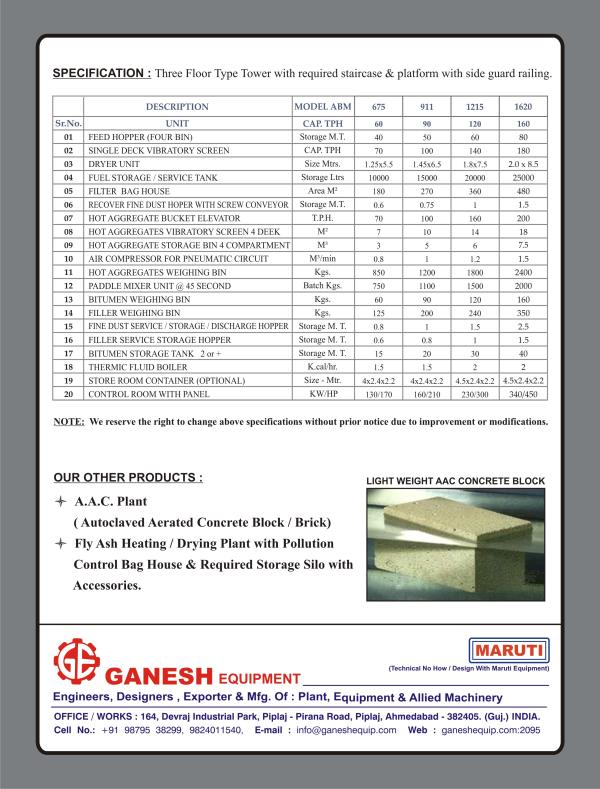 Please Click on the Image for more Details of Machinery - by Ganesh Equipment,  Ahmedabad