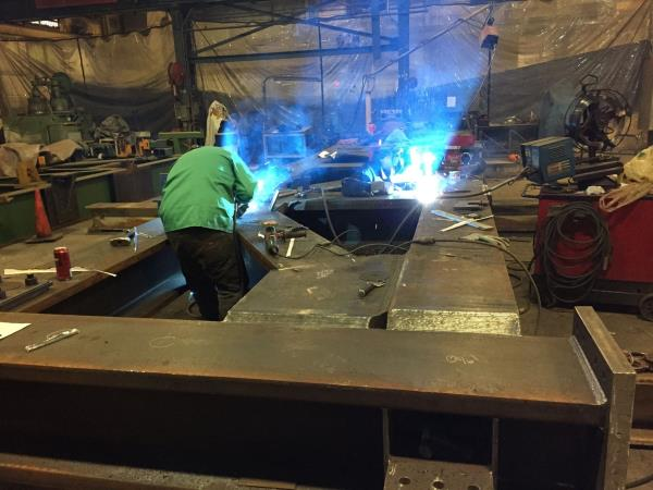 Plate Girder Fabrication  http://www.r4engineers.com/ - by Structural Steel Fabrication, New Delhi