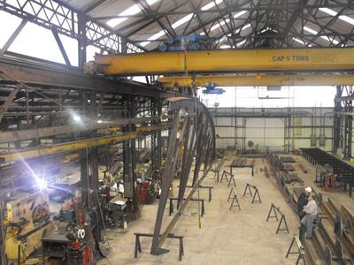 Fabrication of Steel Structure  http://www.r4engineers.com/ - by Structural Steel Fabrication, New Delhi
